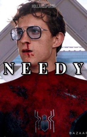 needy   peter parker  by harrysrights