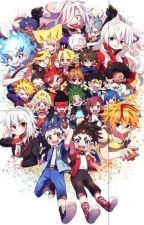 BeyBlade Burst OneShots by Kyion_