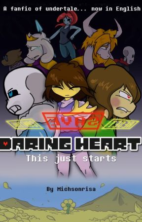 Daring Heart (Undertale) by michsonrisa
