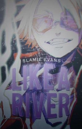 Like a River | BNHA | KamiJirou  by WEEvans