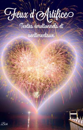 """""""Feux d'Artifice""""  Textes émotionnels et sentimentaux. by LadyLiameca"""