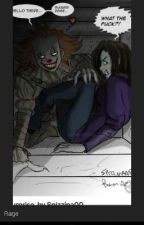 pennywise x demon reader by deathgod2000