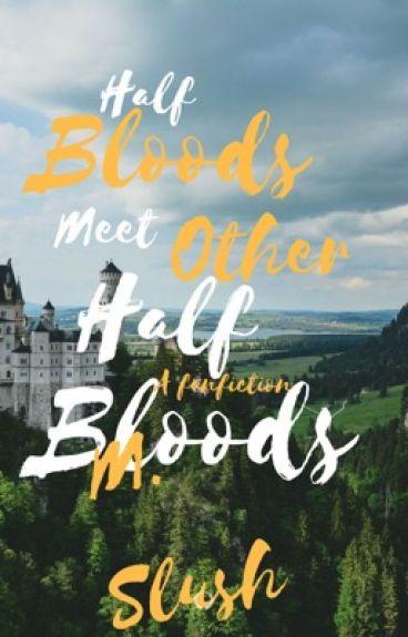 Half Bloods Meet Other Half Bloods (Percy Jackson/Harry Potter Fanfic)