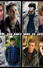 It's okay you don't need to apologize (michifer/sabriel/destiel/adamandriel) by The_new_luci