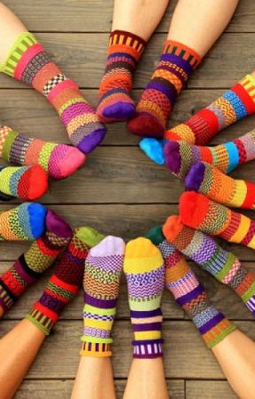 Pair of socks by jolly123oke
