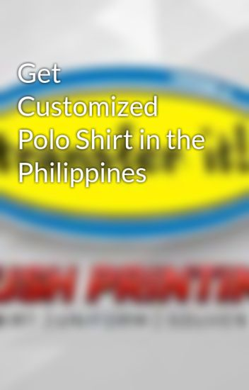 Get Customized Polo Shirt in the Philippines - Transferit