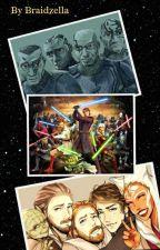 The Clone Wars Text by Braidzella