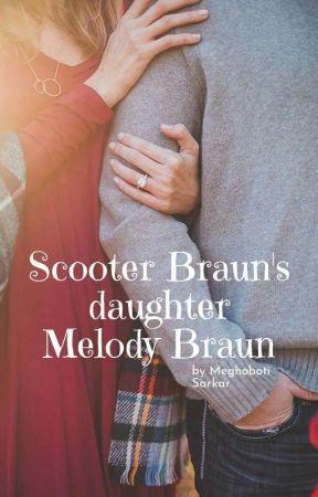 Scooter Braun's daughter Melody Braun by meghobotisarkar