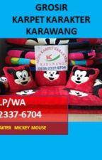WA 0838-2337-6704, Karpet Karakter Gambar Mickey Mouse by grosirkarpetkarakter