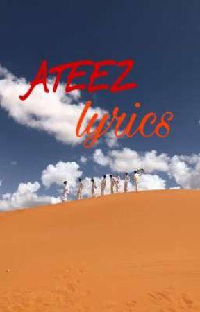 ATEEZ lyrics by chiarachan_