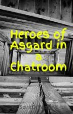 Heroes of Asgard in a Chatroom by SpiritOfWinter