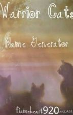 Warrior Cats Name Generator by flameheart920