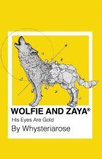Wolfie and Zaya by whysteriarose