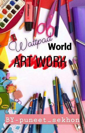 Wattpad World  art work by puneet_sekhon