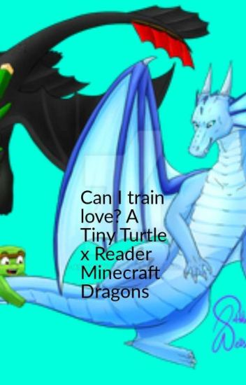Can I train love? A Tiny Turtle x reader Minecraft Dragons - Sexy