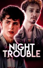 night trouble                                           klaus hargreeves by panklaus