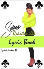 Selena Quintanilla Lyrics Book (Letras) by LyricManiac17