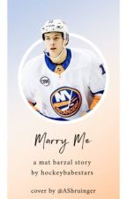Marry Me - Mat Barzal by hockeybabestars