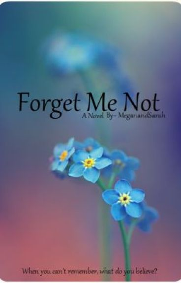 Forget Me Not (Editing & On Hold)