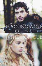 The young wolf and the lion cub by astarkofwinterfell