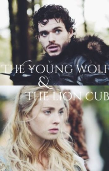 The young wolf and the lion cub