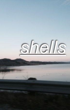shells ; calum au by rhapsodie