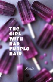 The Girl With Rad Purple Hair by littleD9090