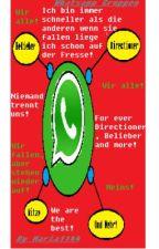 Whatsapp Gruppen. Ihr könnt rein! (Directioner,Labern,mehr) by Maria1144