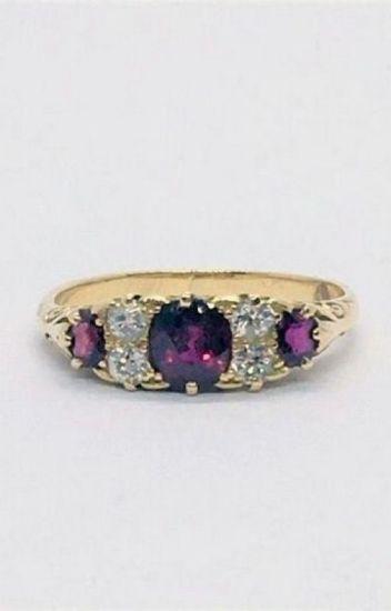 Friarhouse.com-Three Stone Diamond Ring London