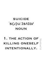 Suicide by Noalove1D