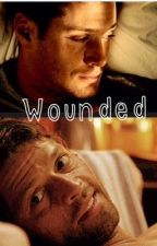 Wounded - Destiel AU by katyrules3