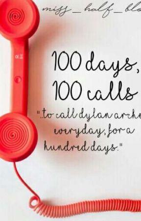 100 Days, 100 Calls by Miss_Half_Blood