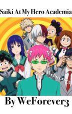 Saiki at My Hero Academia by WeForever3