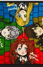 Thebigfour hogwarts by Nightfury3443