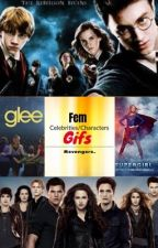 Fem Celebrities and Characters Gifs by DHH_King