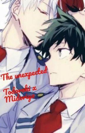 The Unexpected Todoroki X Midoriya by Jilliann1234