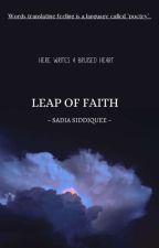 LEAP OF FAITH by fluffywrites73