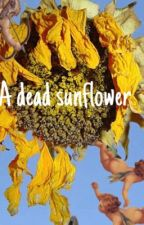 A dead sunflower  by BrainDread