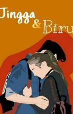 Jingga & Biru by Andn_eka