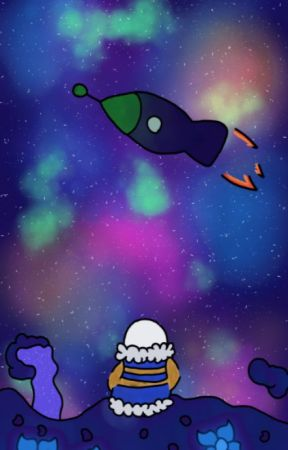 Outertale!Sans || Rocket Ships by theskyhadachild