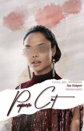 Paper Cut  Jim Halpert  by Melaninaide