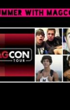 Summer with Magcon by kissingespinosa16