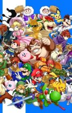 Super Smash Bros, Mario x Reader by TheLightningFlash01