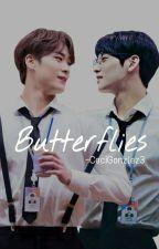 Butterflies - (AU-BINWOO) by CeciGonzlez3