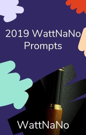 2019 Wattpad NaNoWriMo Prompts by WattpadNaNoWriMo
