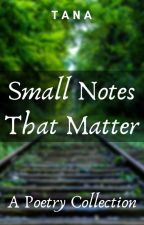 Small Notes That Matter by TalesWithTana