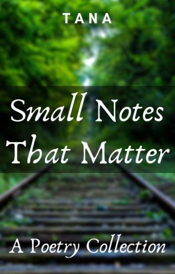 Small Notes That Matter   ✔
