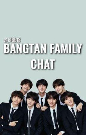 bangtan family chat 》crack fic  by k16b13