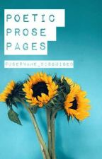 Poetic Prose Pages by username_disguised