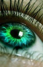Green eyes by girlwolf1010